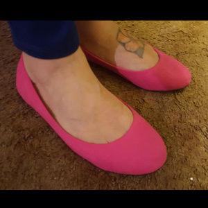 Shoes - walking flats Pink